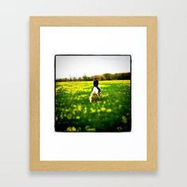 Summer Ride Framed Art Print