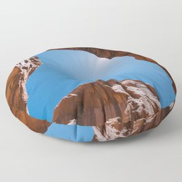 Double Arch at Arches National Park, Utah Floor Pillow