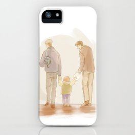 Becoming a Family iPhone Case