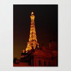 Paris le Vegas Canvas Print