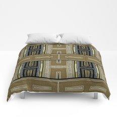 Gold Black Glam ArtDeco X5 Comforters
