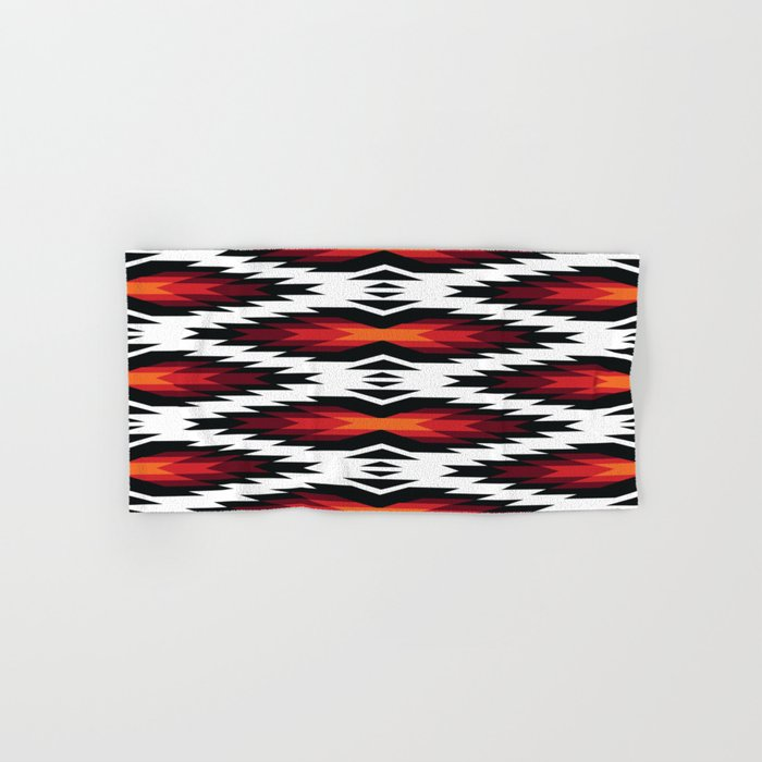 American Native Pattern No. 173 Hand & Bath Towel