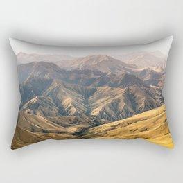 Wild mountains of New Zealand Rectangular Pillow