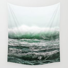 EMERALD SEA Wall Tapestry