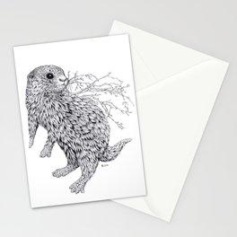 Leaf Otter Stationery Cards