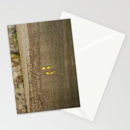 Two Yellow Birds Standing in the Water Stationery Cards