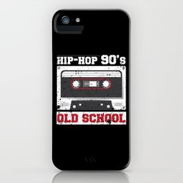 90s Hip Hop iPhone Case