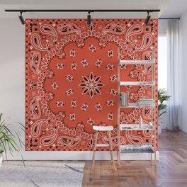 red bandana Wall Mural