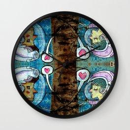 inter worlds Wall Clock
