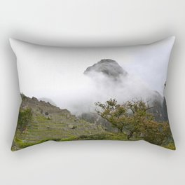 Dans la brume Rectangular Pillow