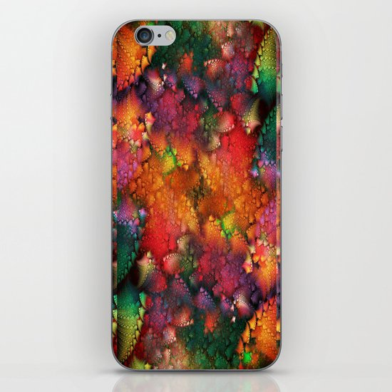 Dragon's tail pattern iPhone & iPod Skin