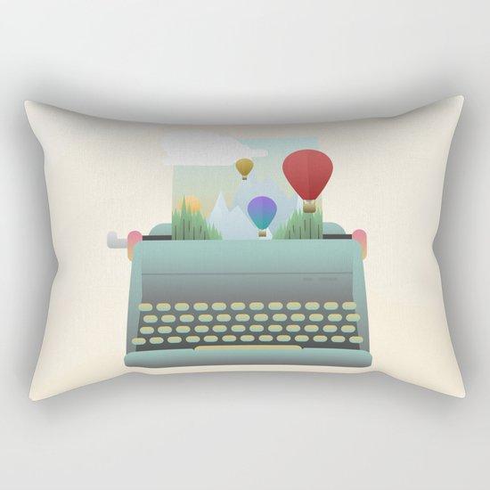 Write your story Rectangular Pillow
