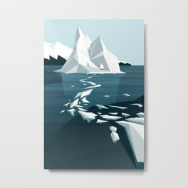 Maybe today I'll be brave enough Metal Print