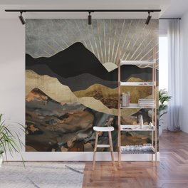 Copper and Gold Mountains Wall Mural