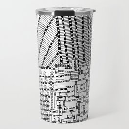 Armada Abstract Travel Mug