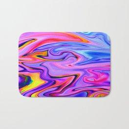 Marbled X Bath Mat