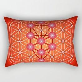 Flower of Life - Root Rectangular Pillow