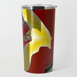 """The Swooping"" Abstract Travel Mug"