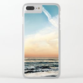 Summer Breeze Clear iPhone Case