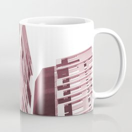 Burgundy Building Coffee Mug
