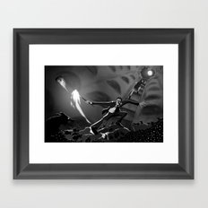 Pay The Piper Framed Art Print
