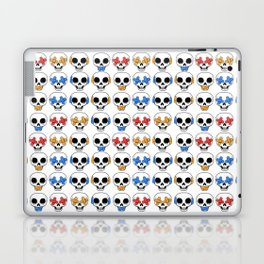Cute Skulls No Evil II Pattern Laptop & iPad Skin
