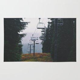 Ski Lift Rug
