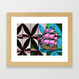 Ship #1 Framed Art Print