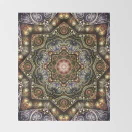 Mandalas from the Voice of Eternity 8 Throw Blanket