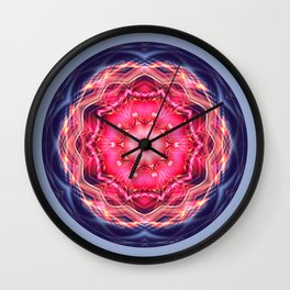 Mandalas from the Heart of Surrender 12 Wall Clock