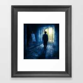 Orpheus: A Self Portrait Framed Art Print
