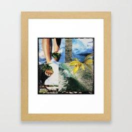 Dreaming of Pipe Framed Art Print
