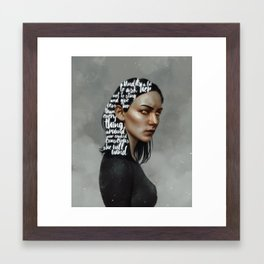 Songs XVIII.  Framed Art Print