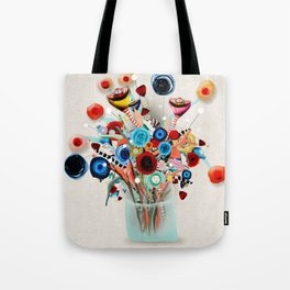 Rupydetequila Vase with flowers - Still Life Floral 2018 Tote Bag
