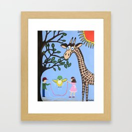 Nature's Playground Framed Art Print