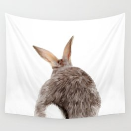 Bunny back side Wall Tapestry