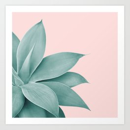 Agave Finesse #3 #tropical #decor #art #society6 Art Print