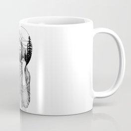 double exposure Coffee Mug