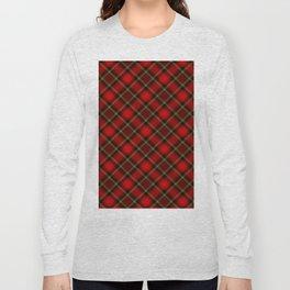 Scottish Fabric Long Sleeve T-shirt