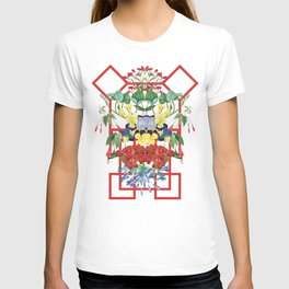 Floral Geometry I T-shirt