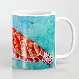 Sea turtle and friend Coffee Mug