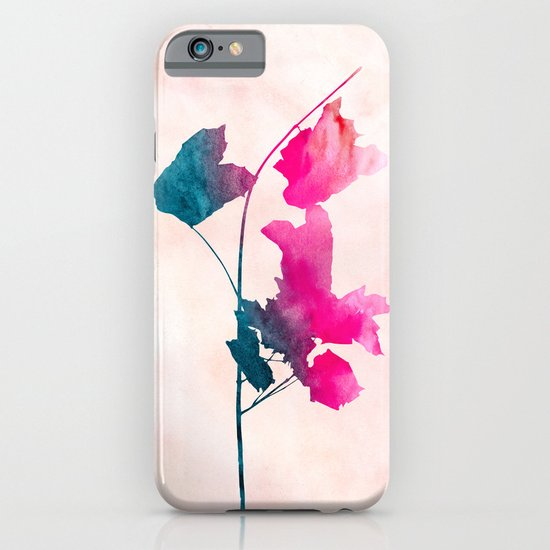 Maple_Watercolor 1 by Jacqueline & Garima iPhone & iPod Case
