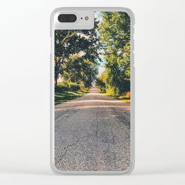 Destination Ahead Clear iPhone Case