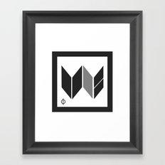 We Are The United -  Logo Identity  Framed Art Print