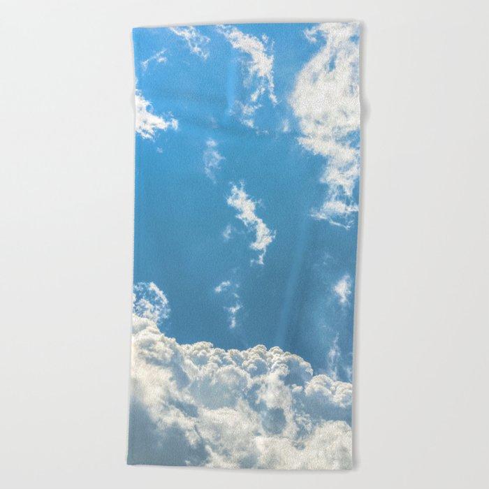 Floating on Air Beach Towel