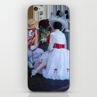mary poppins iPhone & iPod Skins featuring Mary Poppins by Christa Morgan ☽
