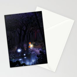 Mythical forest Stationery Cards