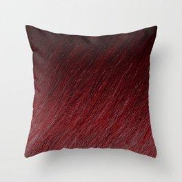 Funky Dark Red Throw Pillow