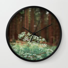 Melody of the Forest. Wall Clock