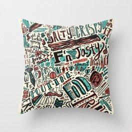 ChiliPot Pattern 3 Throw Pillow